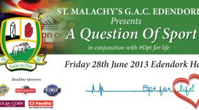 A Question of Sport Fundraiser